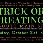 trick or treating on s main street