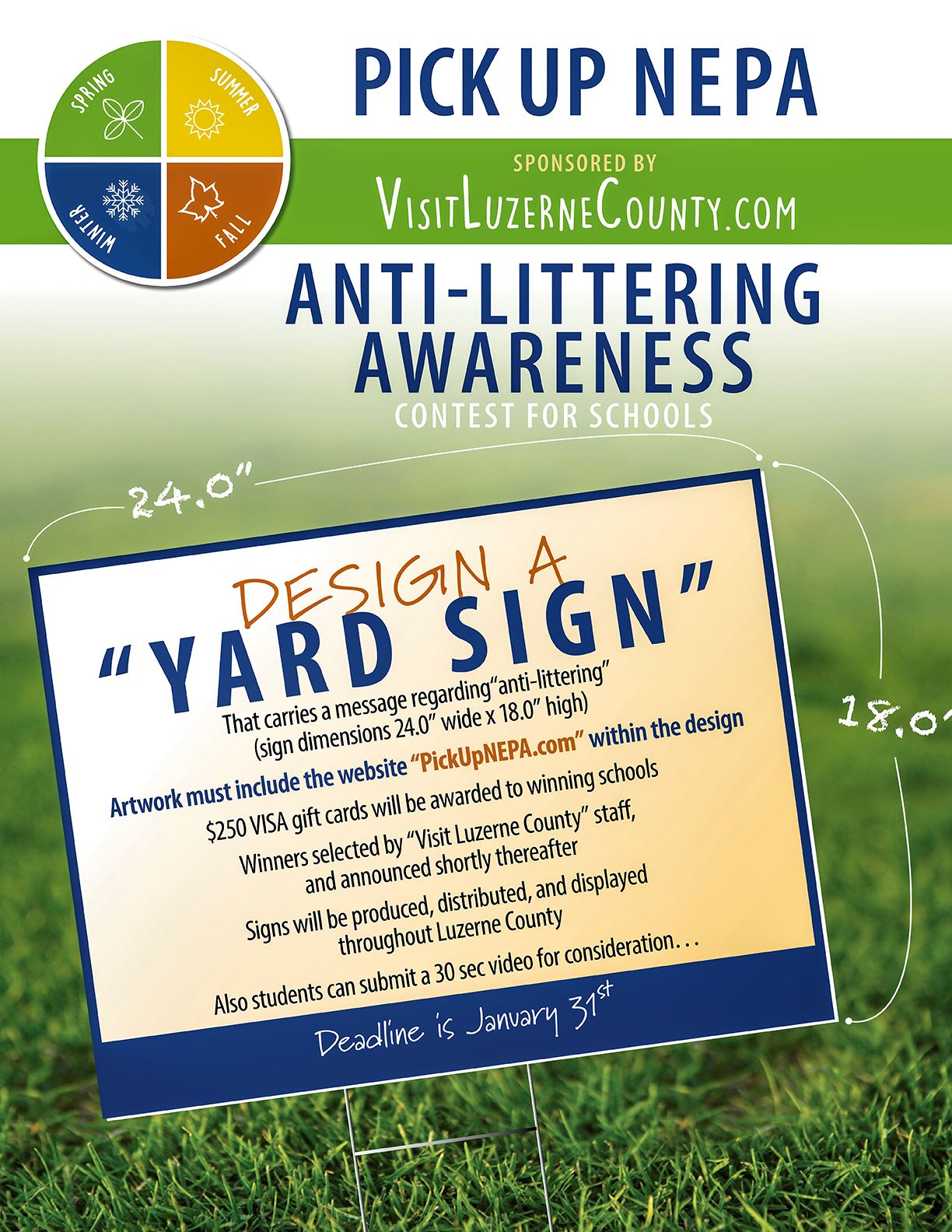 Yard Sign Contest