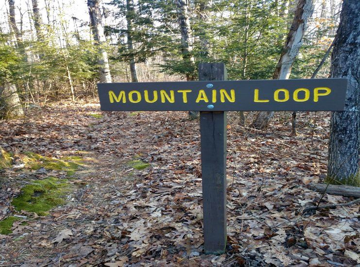 Mountain Loop Sign