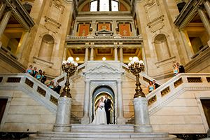 Luzerne Courthouse  Wedding